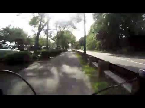 GoPro on Roadbike: Waltham MA to Boston MA