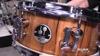 Long & McQuade @ NAMM 2016: Sonor Drums