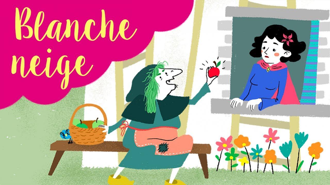 Blanche Neige Histoires Et Contes Traditionnels En Dessin Animé Pour Enfant