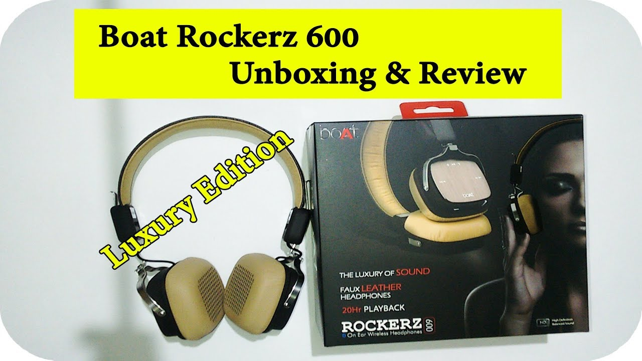 281224dab51 Boat ROCKERZ 600 Full Review in-Depth 2017 - YouTube