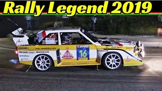 "Rally Legend 2019 San Marino - Day 1 - Thursday/Giovedì - ""The Legend Show"" - Diana, Klausner, Block"