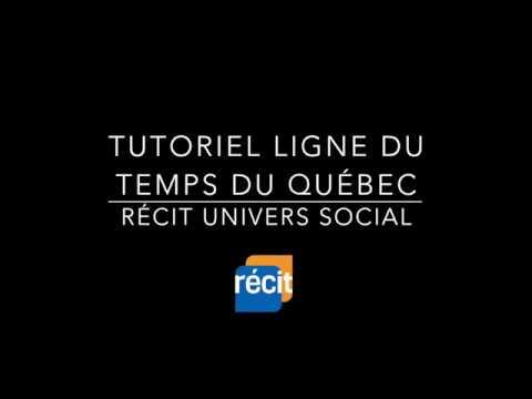 Tutoriel - Ligne du temps du Québec (BAnQ)