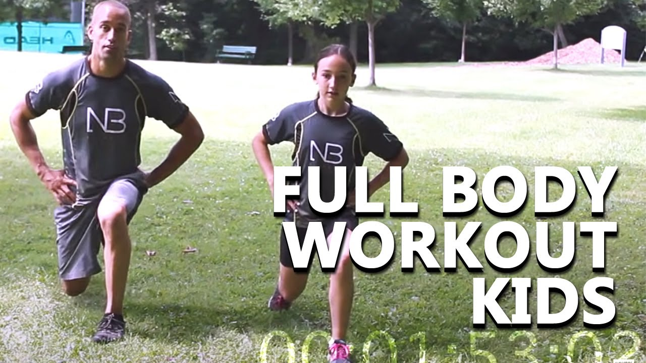 Ultimate 20 Minute Full Body Workout for Kids