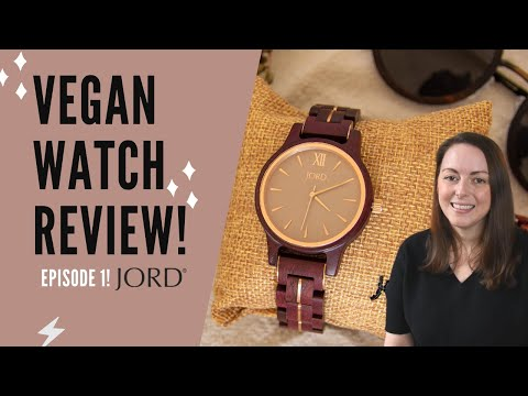 Vegan Watch Review | JORD Watches | Wooden Watches Review | Vegan Gift Set, Sunglasses and Vegan Bag