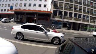 Свадебная BMW, нарываемся на штраф