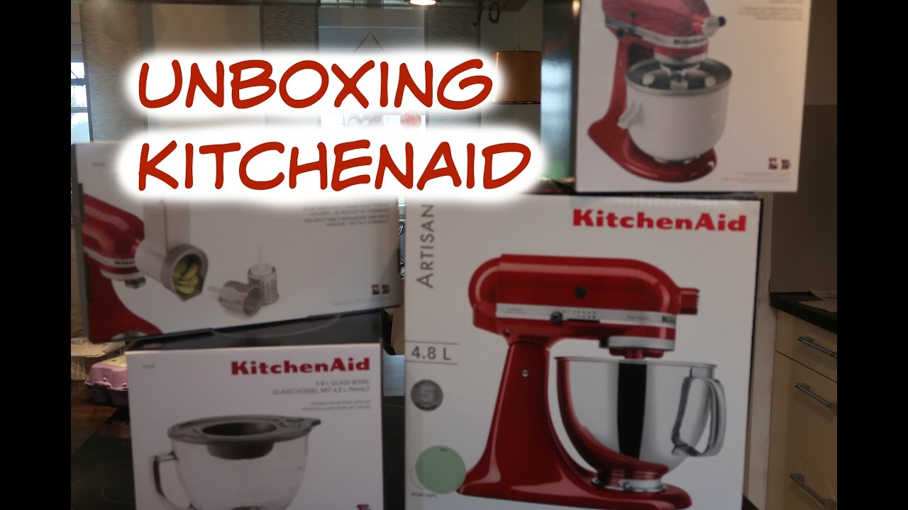 KITCHENAID ARTISAN UNBOXING / Rosislife - YouTube