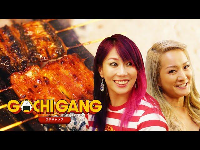 WWE Star Asuka Eats Japanese Eel   Gochi Gang