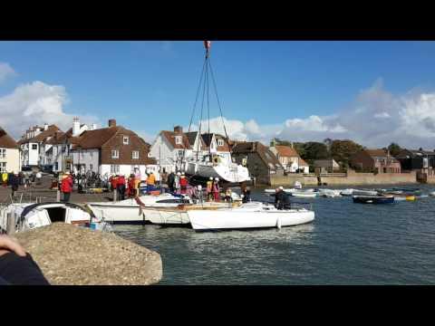 Emsworth Boat Lift 2016