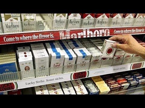 Курим бумагу,а есть ли в сигарете табак?