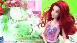 ?Làm Thủy Cung Cho Nàng Tiên Cá Ariel Bằng Chất Nhờn Slime Xanh / Slime Castle
