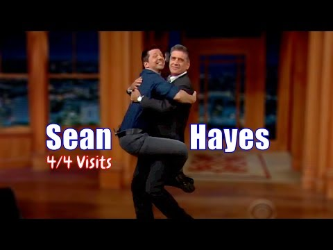 Sean Hayes - They Are Being Ridiculous - 4/4 Visits In Chronological Order