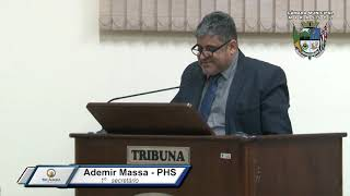 29ª Sessão Ordinária 2019 - Vereador Ademir Massa