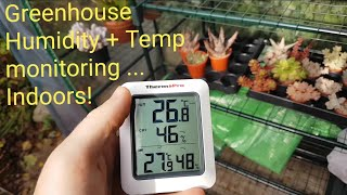 My New Gardening Gadget (Thermopro TP60, Remote Temp+ humidity monitoring)