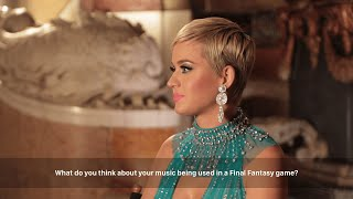 【FFBE】Katy Perry interview on her collaboration with FINAL FANTASY BRAVE EXVIUS【Global】