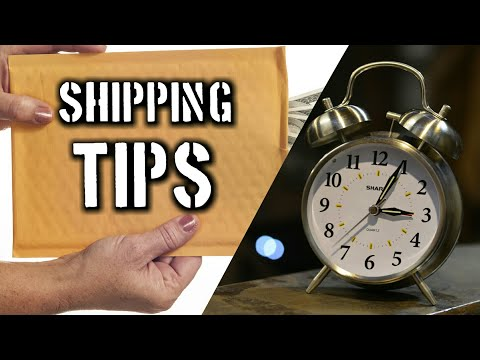 Online Business Shipping Tips