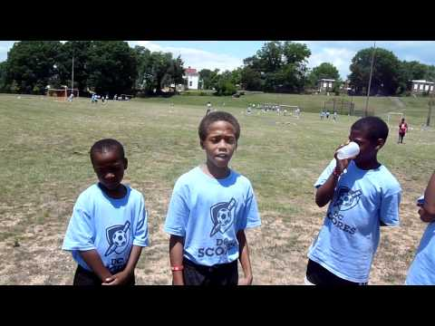Four brothers at Kelly Miller summer camp