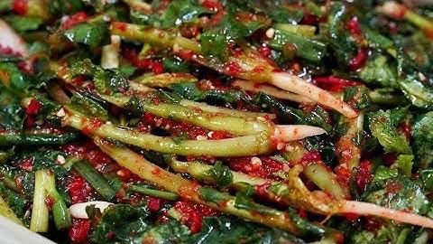 열무김치 맛있게 담는법 : 맛있는 김치양념으로 아삭 시원하게~