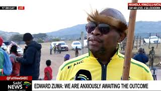 Edward ready with his 'gadget' as possible arrest of Zuma looms