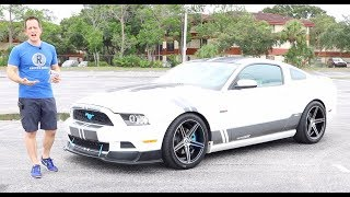 Can a MODIFIED 2013 Ford Mustang V6 perform like a 500HP V8? - Raiti's Rides