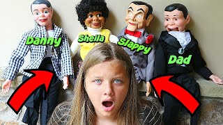 Slappy 39 s Family Is Back Attack of The Dummies Goosebumps In Real Life