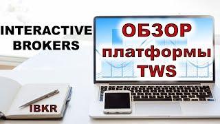 брокер Interactive Brokers. Обзор платформы TWS Interactive Brokers