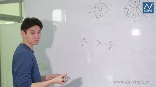 4 класс, 17 урок, Сравнение долей