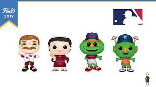 Toy Fair New York Reveals: MLB® Mascots Pop!s!