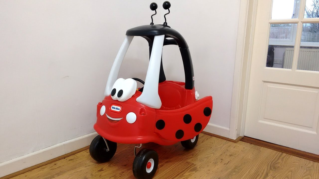Little Tikes Ride On Toys : Ladybird cozy coupe ride on walkaround ladybug little tikes car