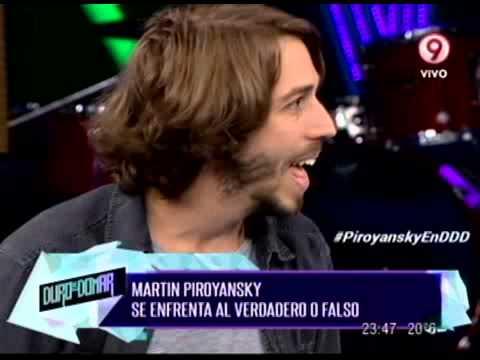 VERDADERO O FALSO - MARTIN PIROYANSKY - PRIMERA PARTE - 28-02-14