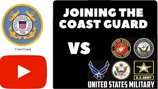 5 REASONS WHY YOU SHOULD JOIN THE COAST GUARD OVER OTHER MILITARY BRANCHES! VLOG 108