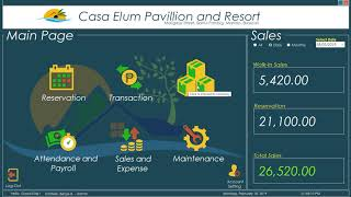 Capstone Project Preview (REMACE : Resort Management System for Pavilion and Resort)