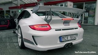 Porsche 997 GT3 RS 4.0 w/ Akrapovic Exhaust System! LOUD Sounds!