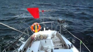 Diy Yacht Self Steering System (wind Vane) On Cal34