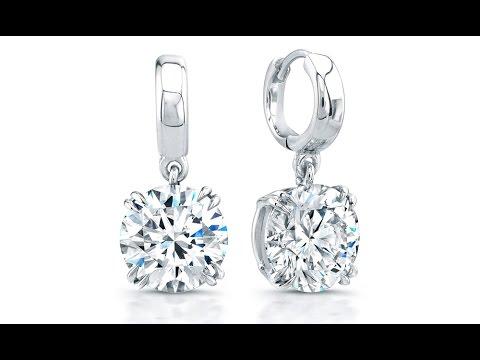 Diamond Stud Earrings With Safety Backs Uk