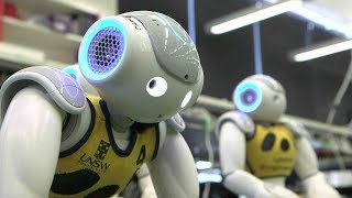 Australia's robot footballers go for gold at RoboCup