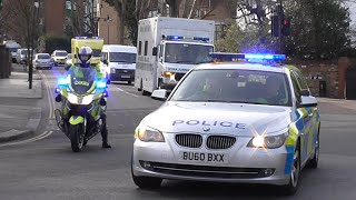 Download Metropolitan Police Escorting a British Ebola Patient to hospital Mp3 and Videos