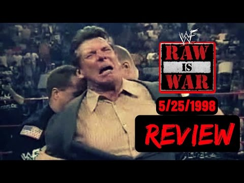 WWF/WWE RAW Attitude Era May 25 1998 Retro Review   Vince McMahon Arrested!