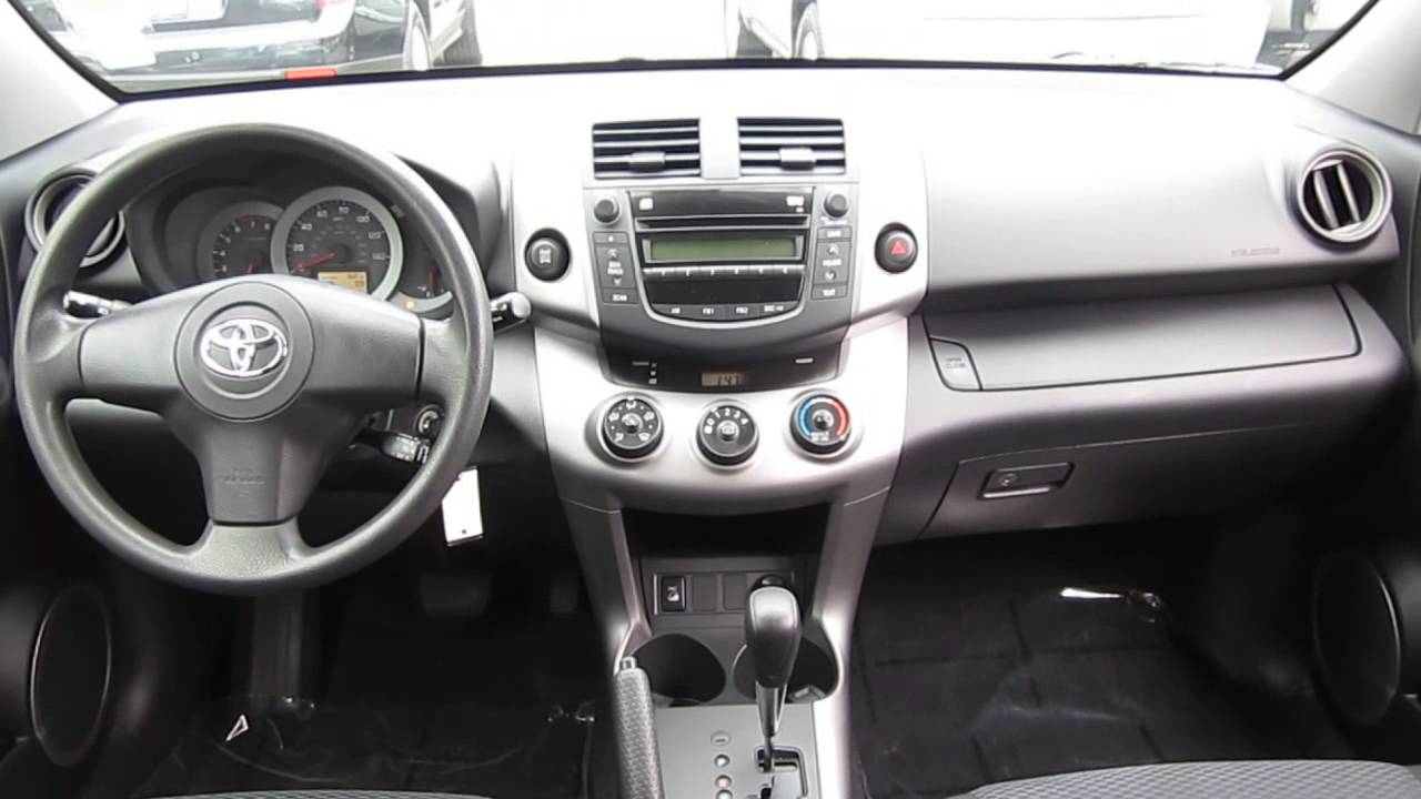 toyota rav4 2006 interior images galleries with a bite. Black Bedroom Furniture Sets. Home Design Ideas