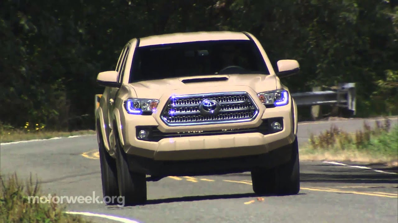 Motorweek Quick Spin 2016 Toyota Tacoma Youtube