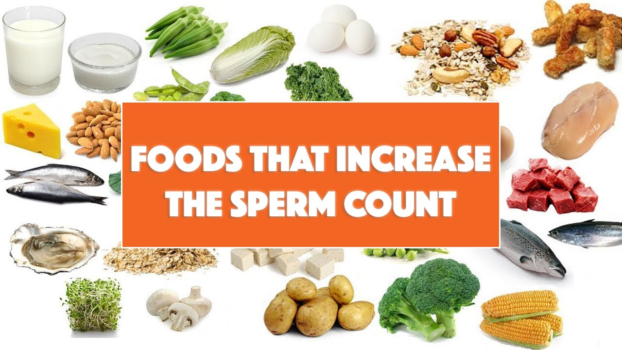 foods for healthy sperm