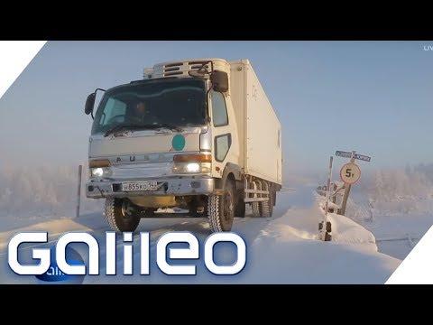 Die kälteste Straße der Welt | Galileo | ProSieben