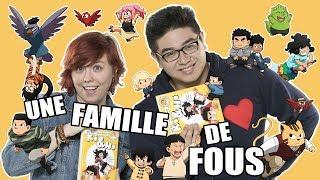 UNE FAMILLE DE FOUS ! - LE RIRE JAUNE (Ki&Hi Tome 2)