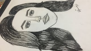 How to Draw a face | Mahnoor Naeem