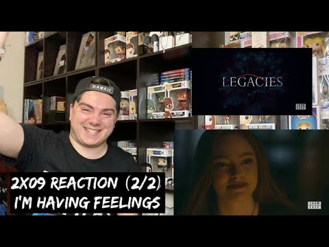 LEGACIES - 2x09 'I COULDN'T HAVE DONE THIS WITHOUT YOU' REACTION (2/2)