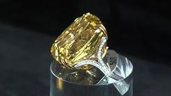 Un diamant jaune de plus de 100 carats aux enchères à Genève