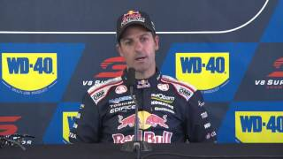 Saturday Press Conference - WD-40 Phillip Island SuperSprint.mp4