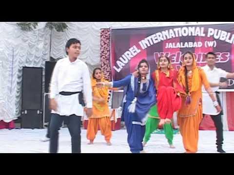 Kheden De Din Chaar Folk Style Bhangra[ L-I-P-S School Annual Day -2013 ]