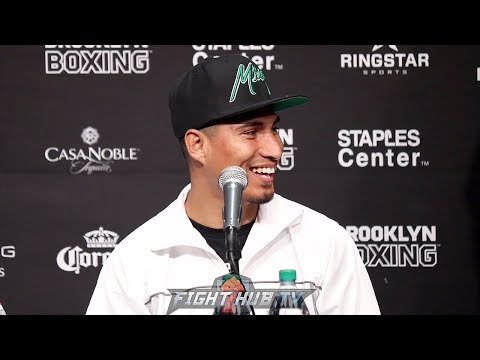 """MIKEY GARCIA """"ERROL SPENCE FIGHT WILL MOTIVATE ME THE MOST!"""""""