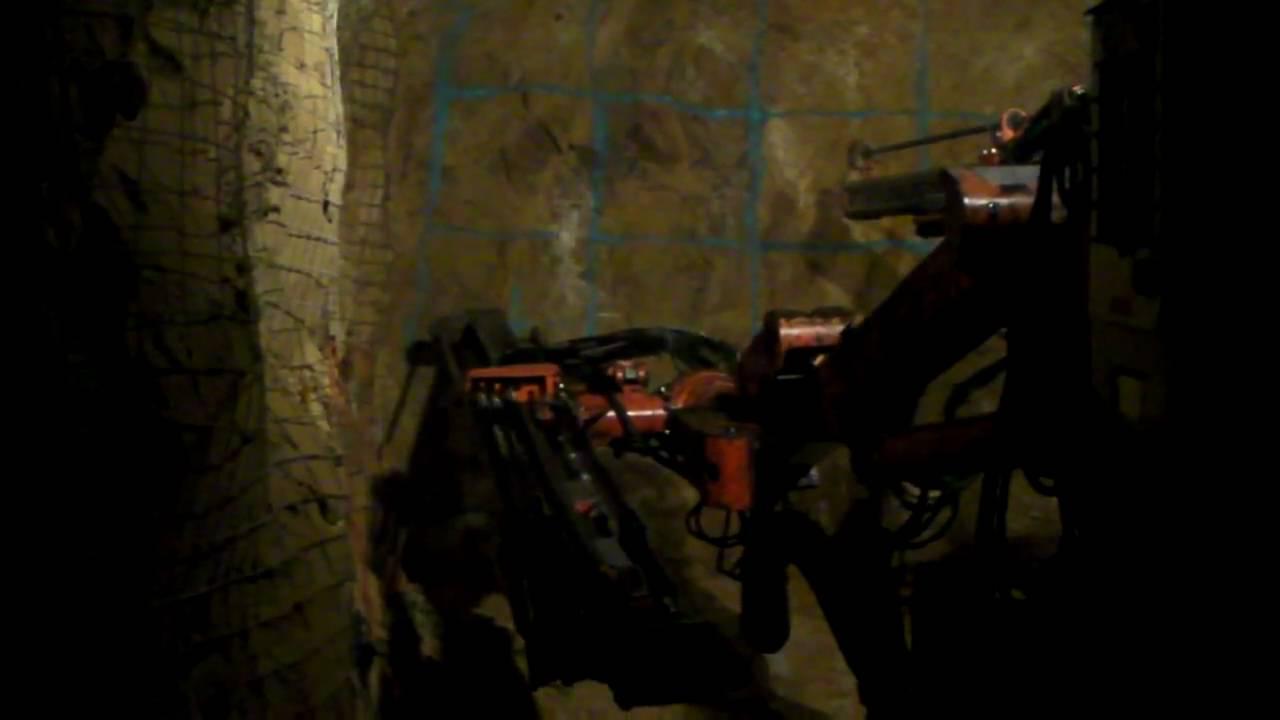 Small Mine Development : Small mine development two boom jumbo drilling youtube