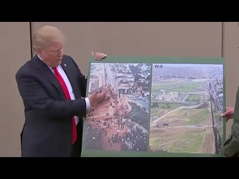 Trump Forgets Airplanes Exist With Border Wall Push